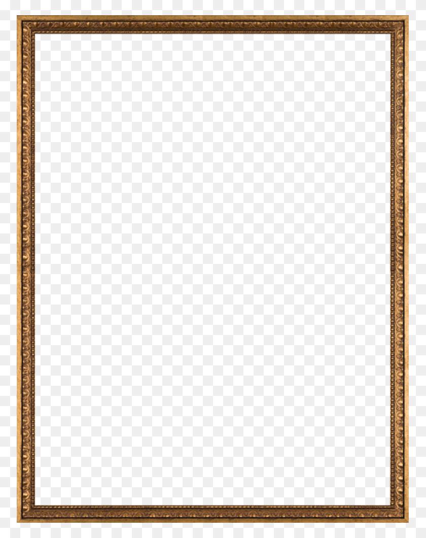 Versailles Gold Frame X - Gold Frame PNG