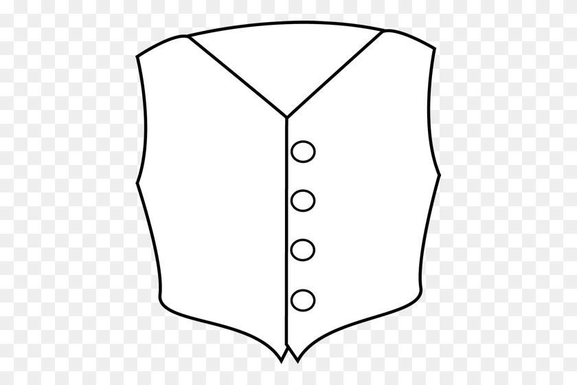 Vest Clipart Black And White - Underwear Clipart Black And White