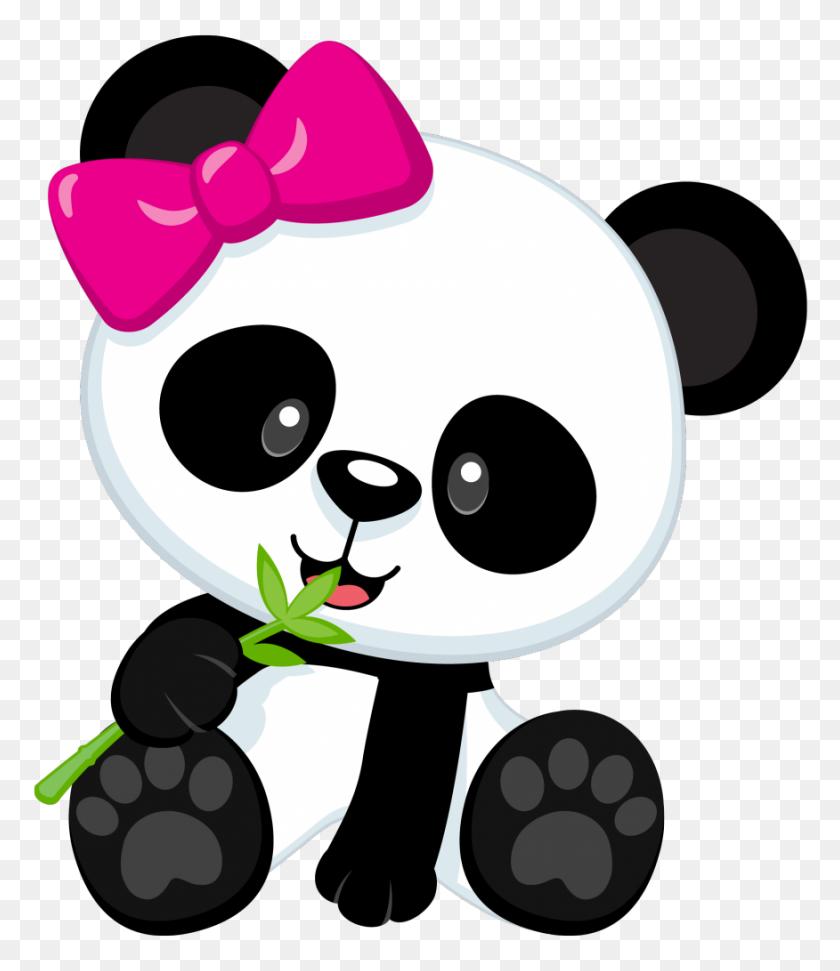 876x1024 Vicki Arnold - Panda Bear Clipart
