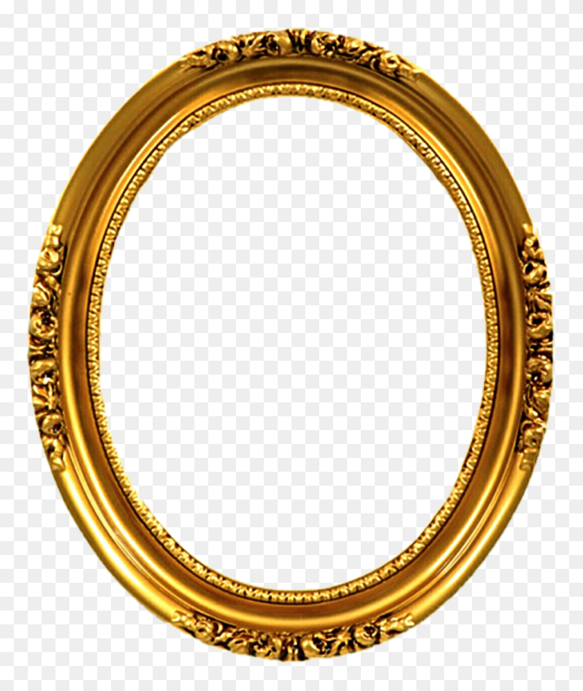 Victorian Frame Png Transparent Victorian Frame Images - Oval Frame PNG