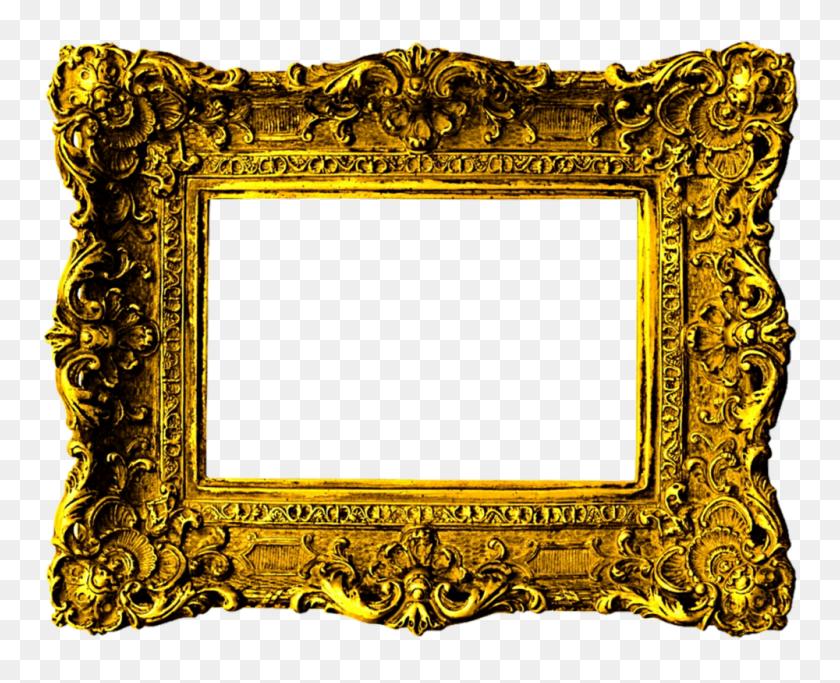 Victorian Frame Png Transparent Victorian Frame Images - Gold Frame PNG