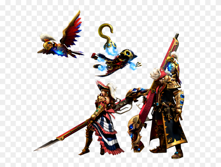 591x576 View Samegoogleiqdbsaucenao Insect Glaive Render - Monster Hunter PNG