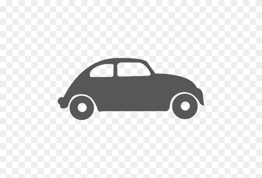 Vintage Beetle Car Icon - Vintage Car PNG