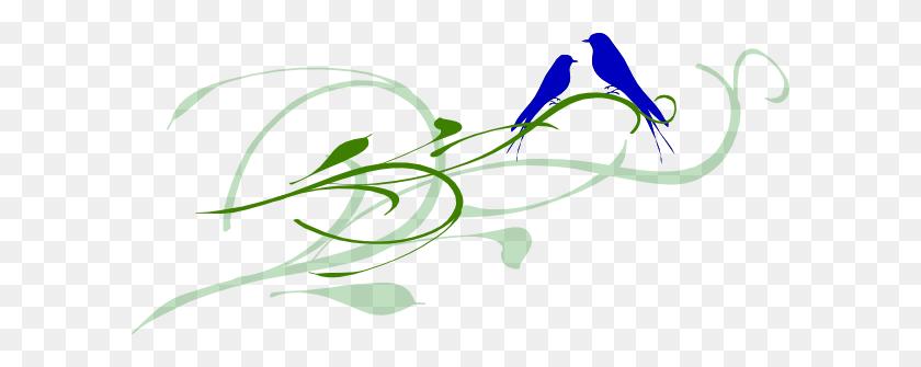 Vintage Love Bird Clip Art Kj Blue Love Birds Clip Art Painted - Wild Hair Clipart