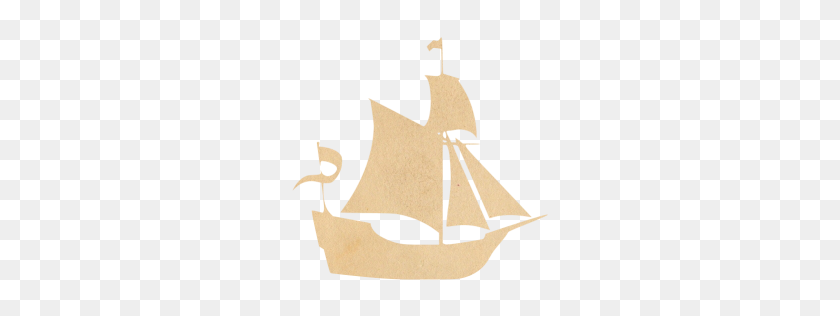 Vintage Paper Boat Icon - Paper Boat PNG