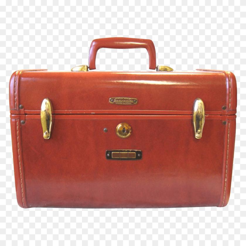 Vintage Samsonite Suitcase Transparent Png - Luggage PNG