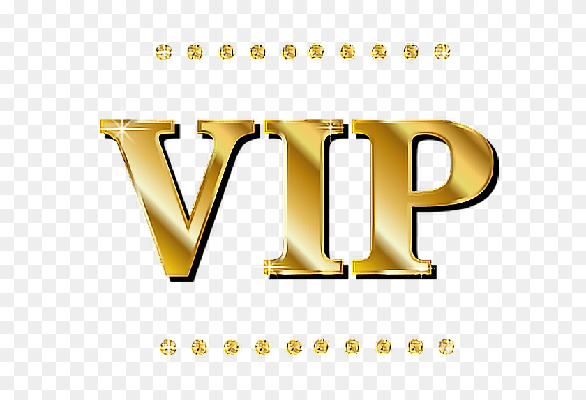 Vip Lux Gold Oro Lujo Party - Vip Clipart