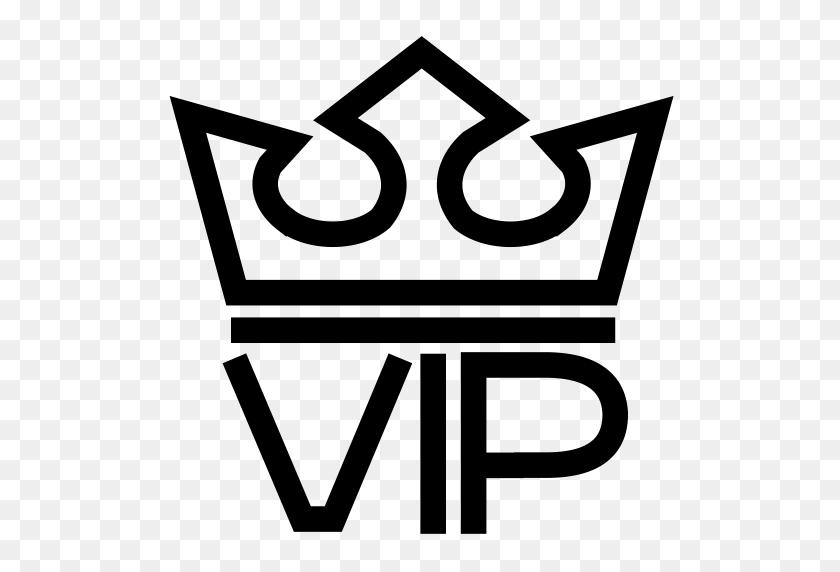 Vip, Sign, Crown Icon With Png And Vector Format For Free - Vip Clipart