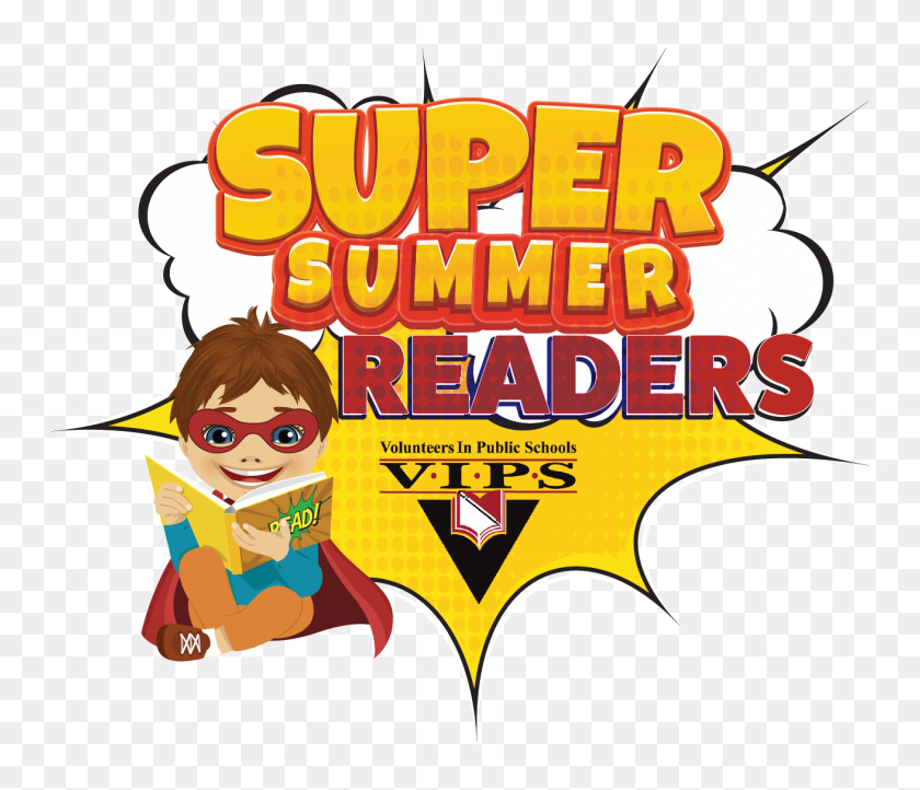 Vips Virtual Readers Volunteers In Public Schools - Schools Out For Summer Clip Art