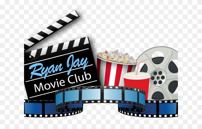Vireo Clipart Movie Night - Movie Night Clipart
