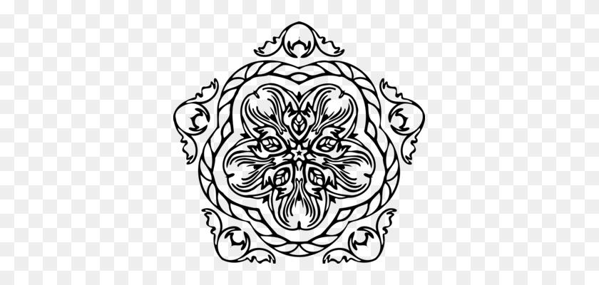 Visual Arts Line Art Ornament Drawing Decorative Arts Free - Line Design Clipart