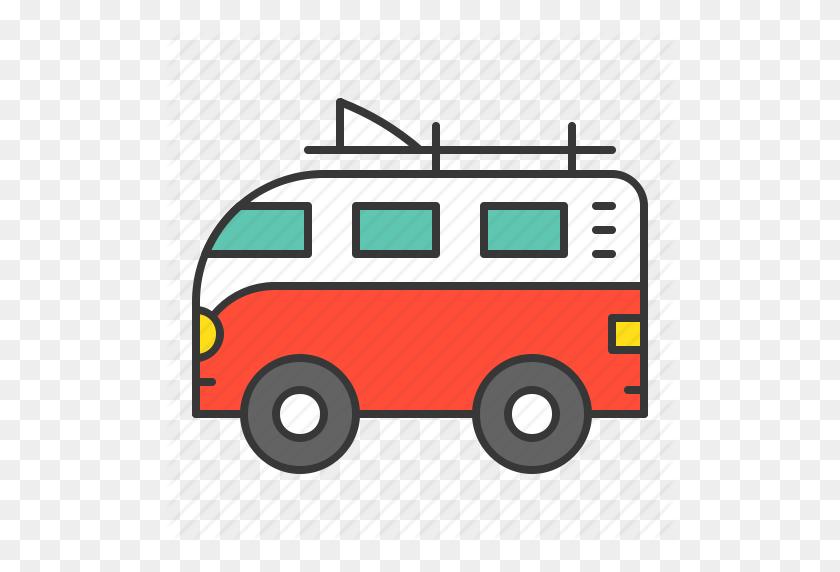 Volkswagen Clipart Surf Van - Vw Van Clipart