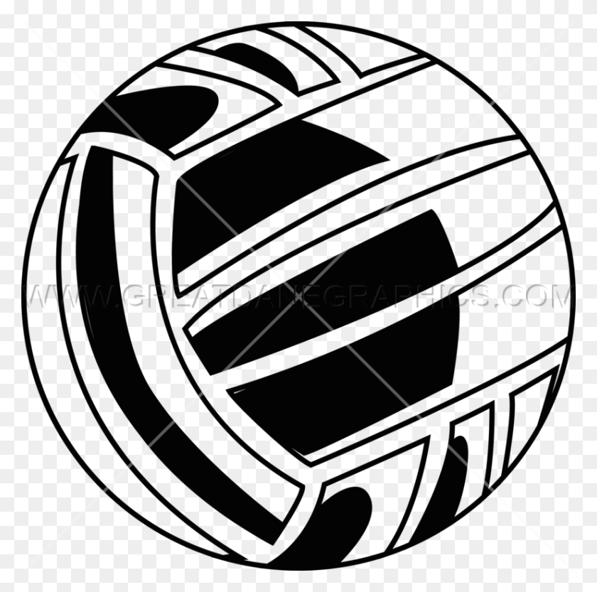 Volleyball Icon Production Ready Artwork For T Shirt Printing - Volleyball Ball Clipart