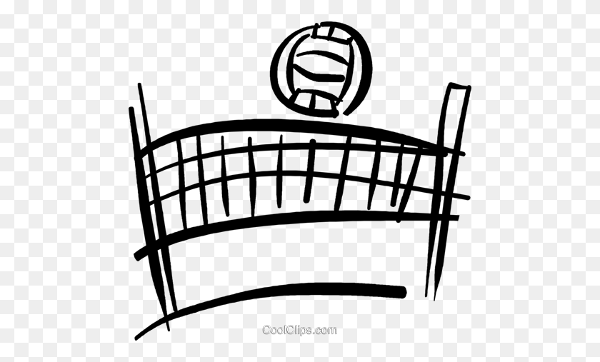 Volleyball Net Clipart Blank Background Collection - Net Clipart