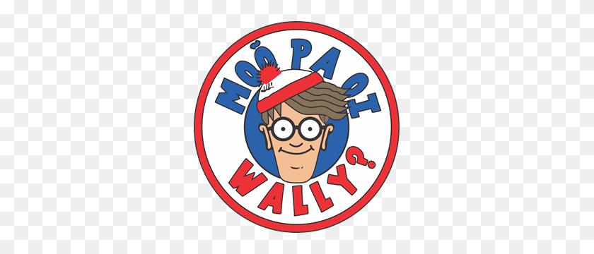 Waldo Logo Vector - Wheres Waldo Clipart