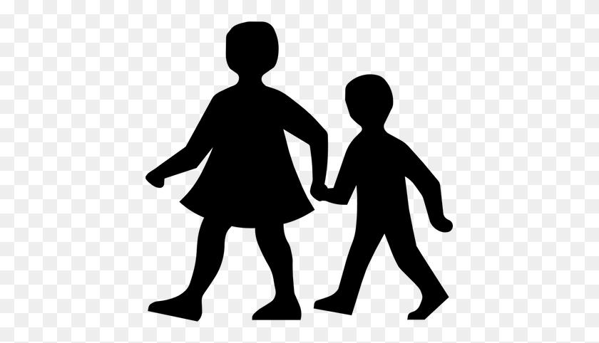 Walk To School Nes Learning Zone - Kids Walking PNG