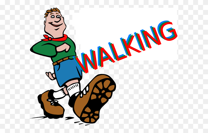 Walking Feet Clip Art - Preschool Kids Clipart
