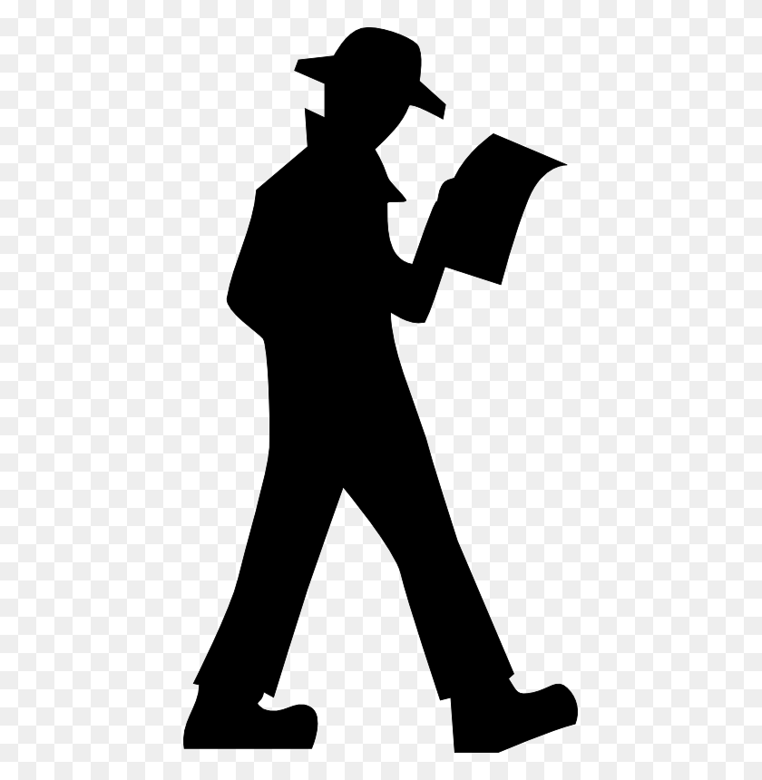 Walking Person Clipart Black And White - Person Clipart Black And White