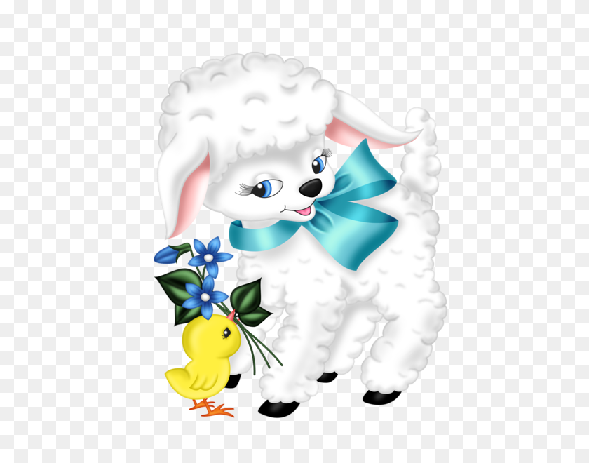 Wallpapers And More Easter - Mary Had A Little Lamb Clipart