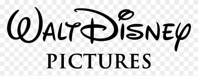 Walt Disney Pictures Text Logo - Walt Disney Logo PNG