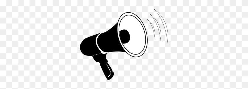 300x243 Wandsworth Carers Forum - Megaphone Clipart PNG