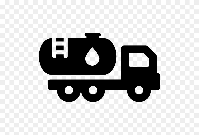 Water Truck - Truck Icon PNG