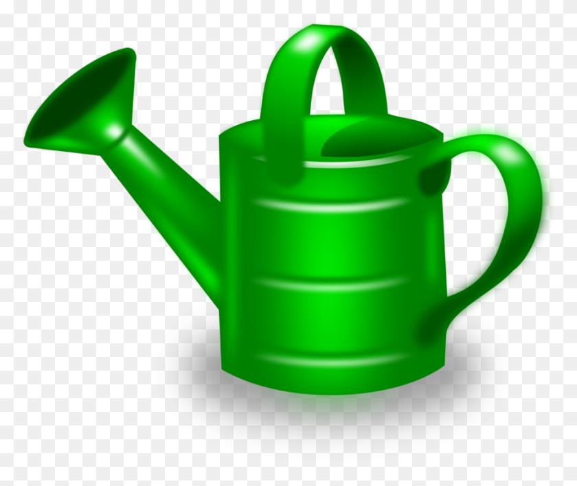 Watering Cans Gardening Garden Tool - Yard Clipart