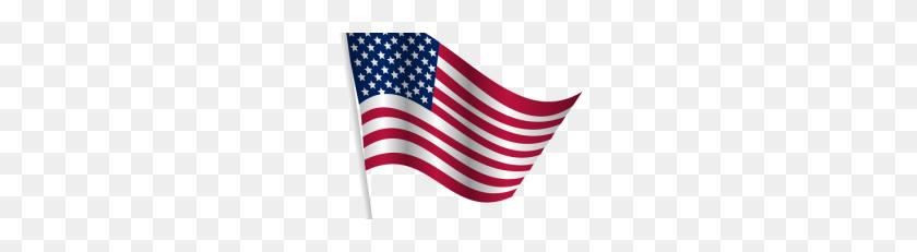 Waving American Flag Drawing Png Png - Waving American Flag PNG