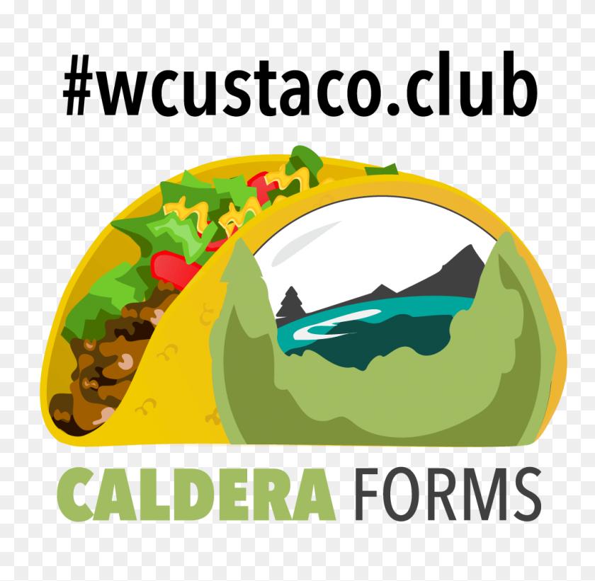 1000x976 Wcus Taco Club - Taco Clipart PNG