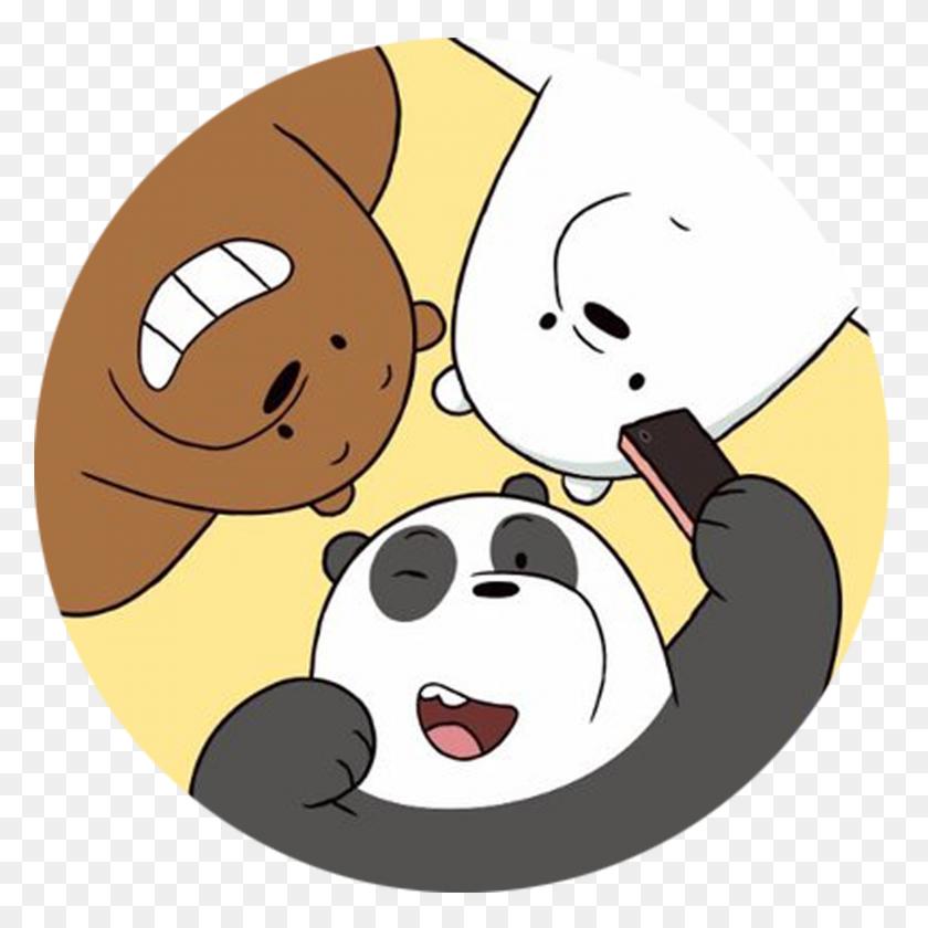 We Bare Bears Selfie Curtsy Gift Studio - We Bare Bears PNG