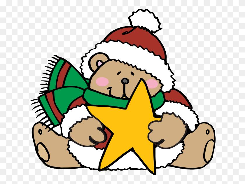 Web Design Development Teddy Bear, Bears And Clip Art - Christmas Teddy Bear Clipart
