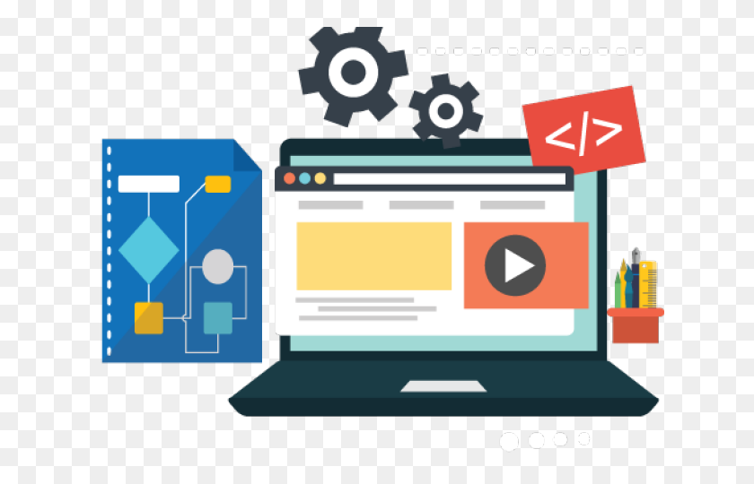 Computer template, Web development Web design Computer Software, Website  development and design transparent background PNG clipart | HiClipart