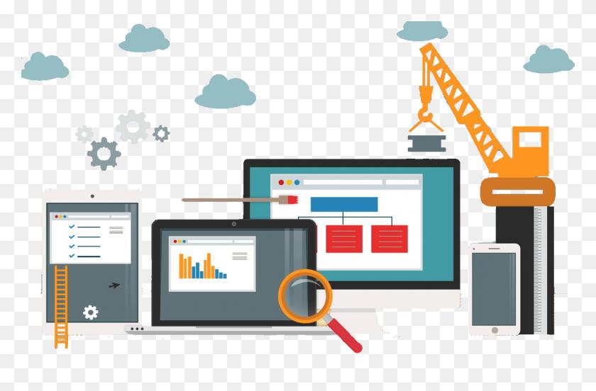 Website Design Company, Website Development Company India Delhi - Web Design PNG