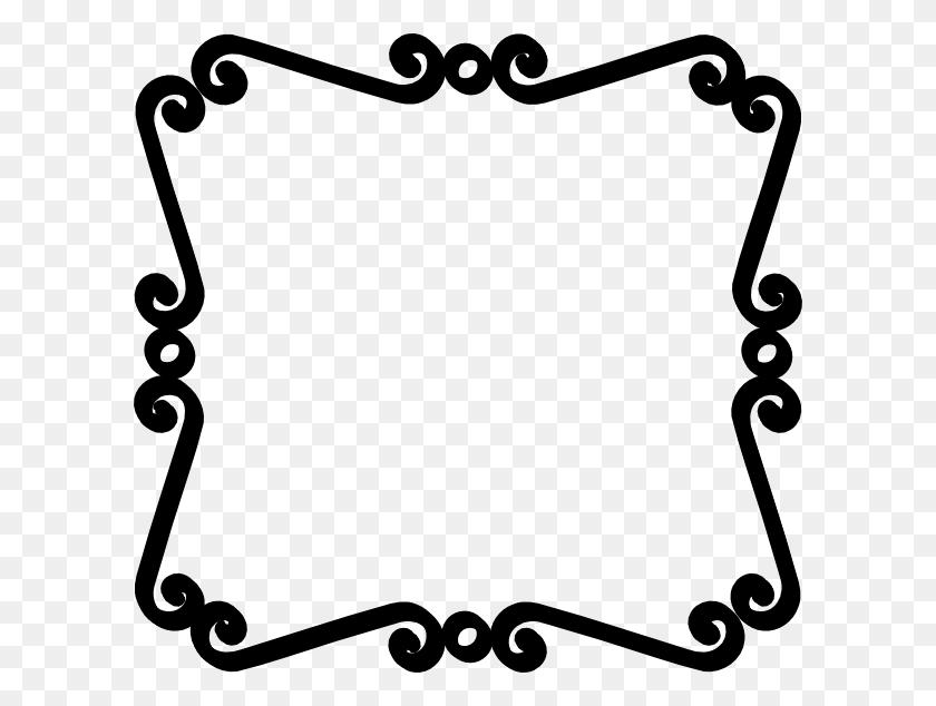 Wedding Clip Art Black And White Border - Wedding Program Clipart