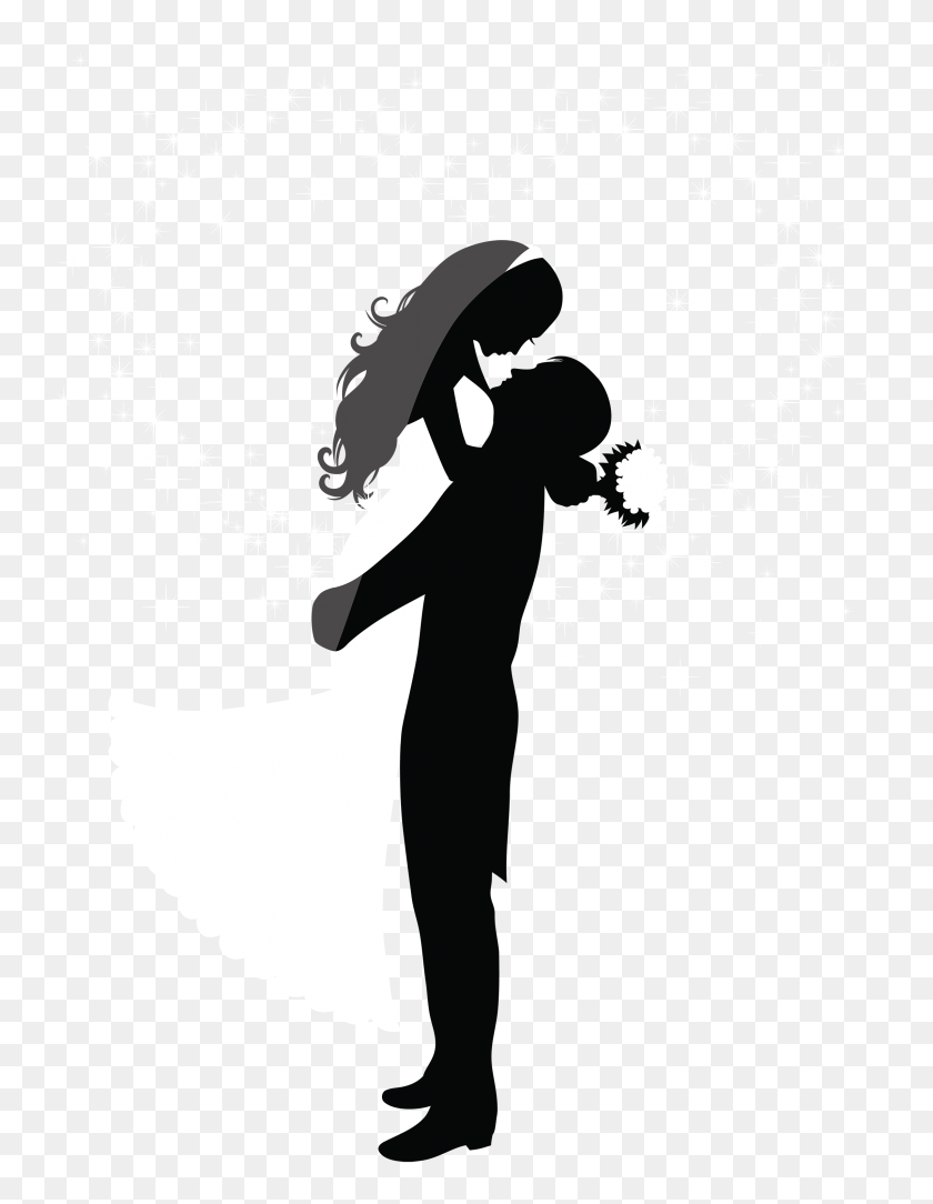 Wedding Couple Clipart Png - Skin Clipart