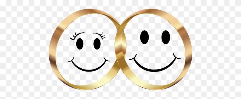 Wedding Rings - Interlocking Wedding Rings Clipart