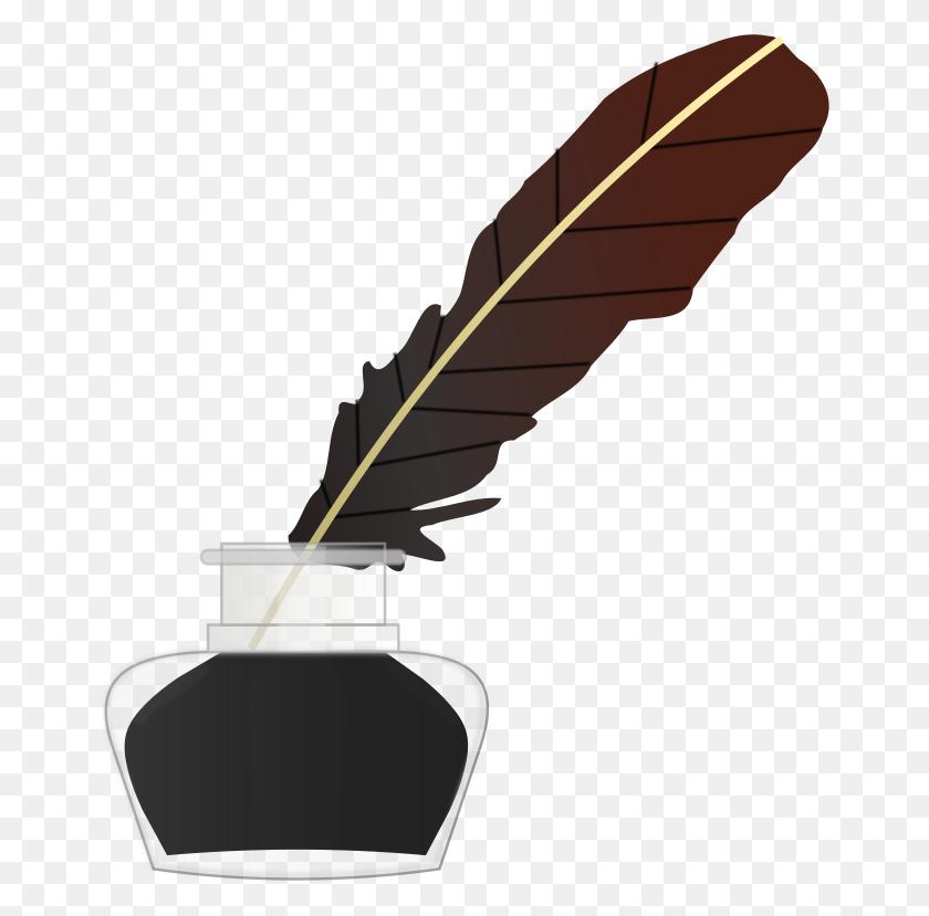 Well Clip Art Download - Quill Pen Clipart