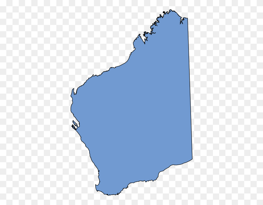 Western Australia Blue Clip Art - Australia Clipart