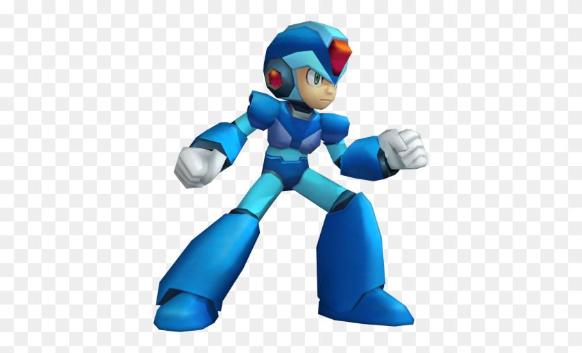 397x450 What Mega Man Powered Up Does Right And Mega Man Maverick Hunter - Mega Man X PNG