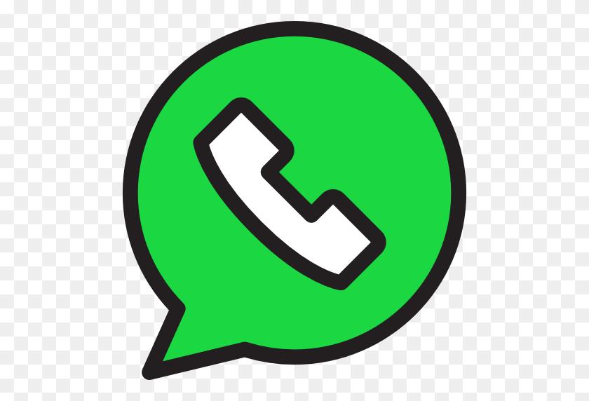 512x512 Whatsapp Icon - Logo Whatsapp PNG