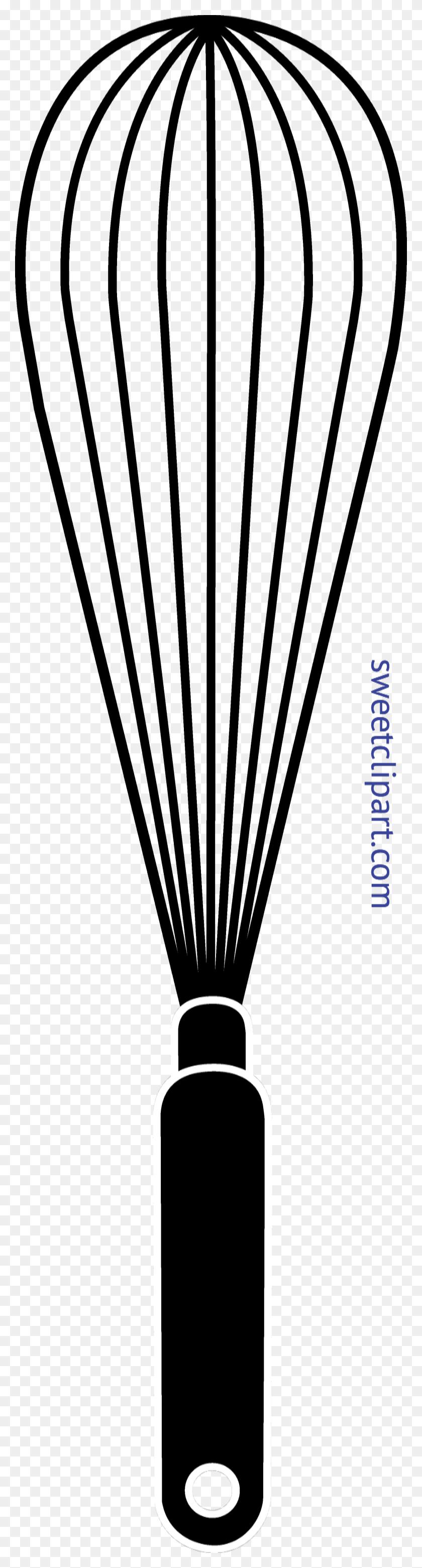 Whisk Silhouette Clip Art - Whisk Clipart