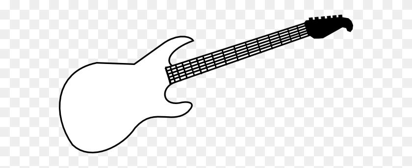 Whit Clipart Electric Guitar - Panda Head Clipart
