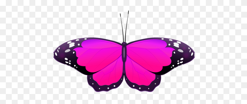 White And Purple Butterfly Clipart Clip Art Images - Butterfly Clipart Transparent