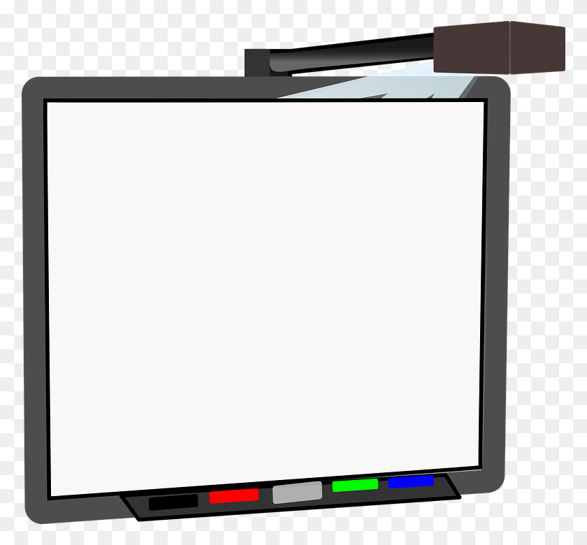 778x720 White Board Clipart Image Group - Megaphone Clipart Free
