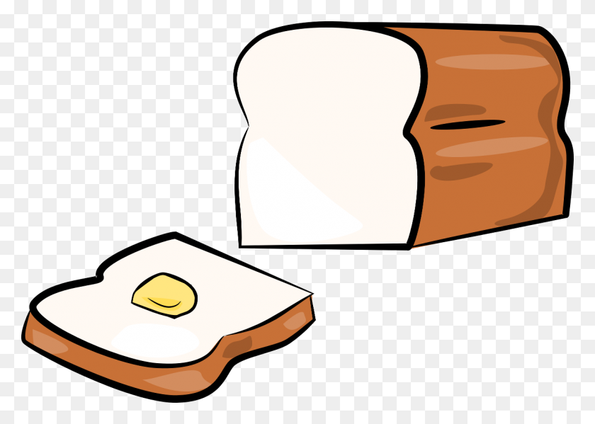White Bread Cliparts - Banana Bread Clipart