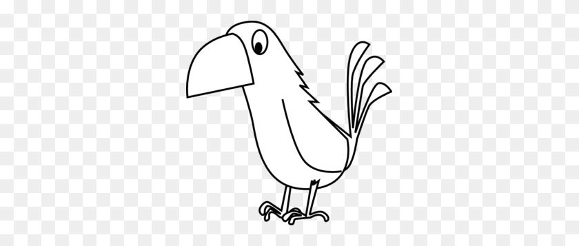 299x297 White Cartoon Parrot Clip Art - Parrot Clipart
