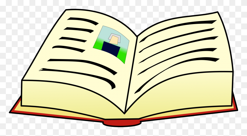 White Closed Book Clip Art - Closed Book Clipart