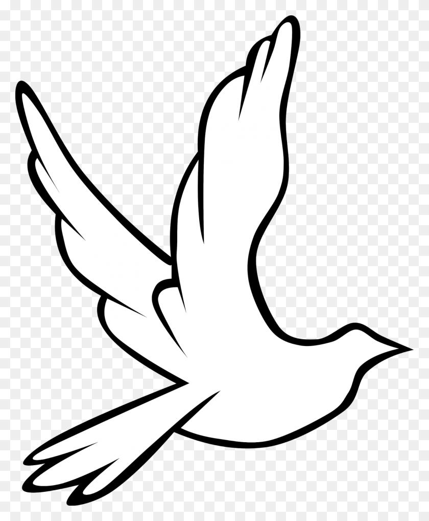 1302x1600 White Dove Clipart God - Sacrament Clipart