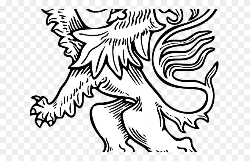 White Lion Clipart Lion Outline - Black And White Clipart Lion