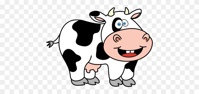 Animated Cow Pictures - Cartoon Cow Transparent Background Clipart  (#5624589) - PinClipart